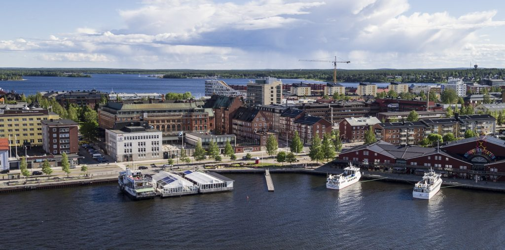 Luleå är centrum i Luleåregionen