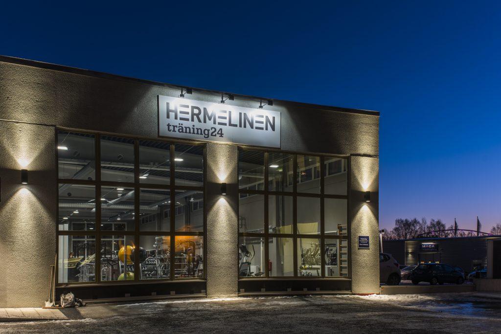 Öppning av nya Hermelinen träning24 på Skutviken