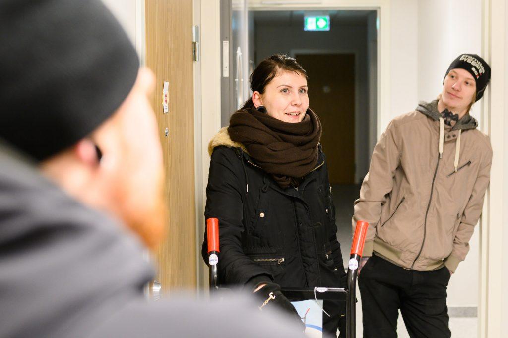 Nu flyttar de första hyresgästerna in på Västra Varvsgatan 18A